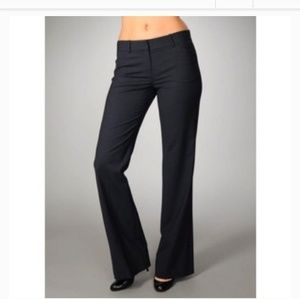 Theory Black Alford Dress Pants